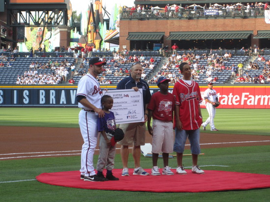 Thumbnail image for Atlanta Braves Check Presentation - June 16, 2010