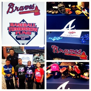 A great collection of photos from the Atlanta Braves' 2013 Equipment Day Collection.
