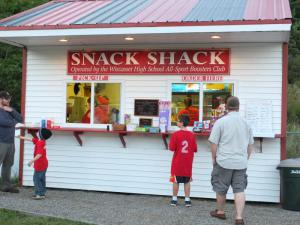 High School Snack Shack
